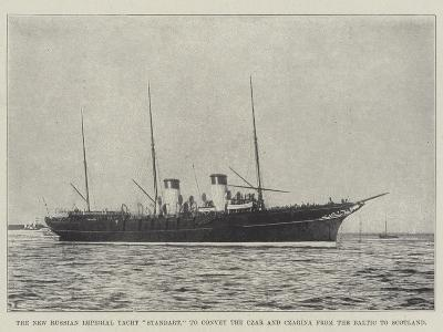 The New Russian Imperial Yacht Standart, to Convey the Czar and Czarina from the Baltic to Scotland--Giclee Print