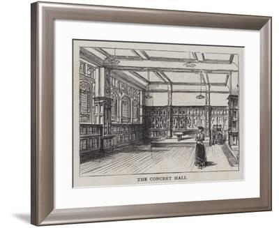 The New Salle Erard--Framed Giclee Print