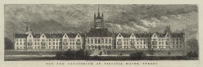 The New Sanatorium at Virginia Water, Surrey--Giclee Print