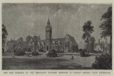 The New Schools of the Merchant Taylors' Company at Great Crosby, Near Liverpool--Giclee Print