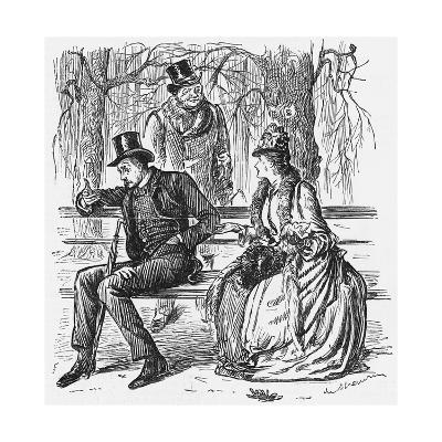 The New Science, 1887-George Du Maurier-Giclee Print