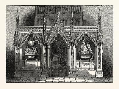 The New Screen in Westminster Abbey, London, UK--Giclee Print