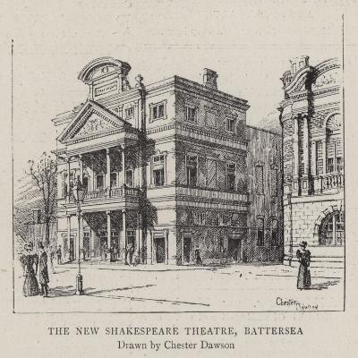 The New Shakespeare Theatre, Battersea--Giclee Print