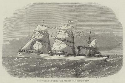 The New Steam-Ship Othello for the Suez Canal Route to India--Giclee Print