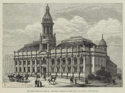 The New Technical School, Bradford, Opened by the Prince of Wales-Frank Watkins-Giclee Print