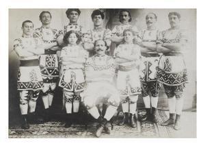 The New ten Fezzans Arabs (Troupe Abbas ben Abdallah) (1906) (Marocains)