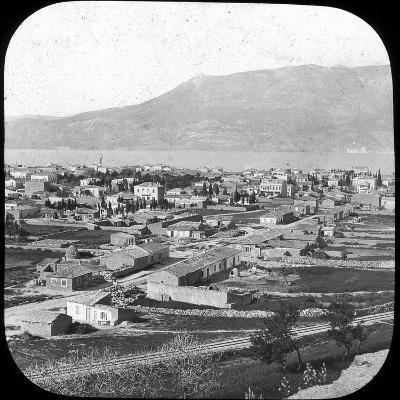 The New Town, Corinth, Greece, Late 19th or Early 20th Century--Photographic Print