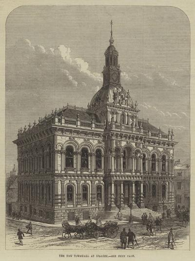The New Townhall at Ipswich--Giclee Print