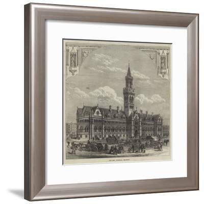 The New Townhall, Bradford--Framed Giclee Print