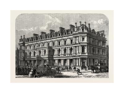 The New Union Bank Buildings, Carey Street and Chancery Lane, London, UK, 1865--Giclee Print