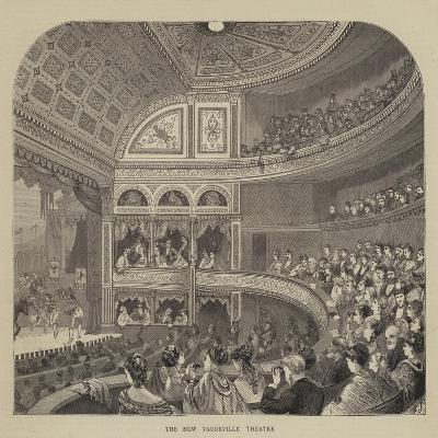The New Vaudeville Theatre--Giclee Print