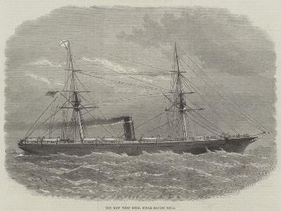 The New West India Steam-Packet Neva-Edwin Weedon-Giclee Print