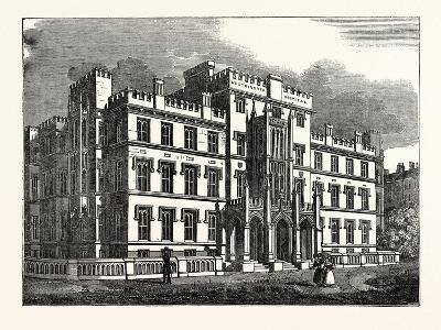 The New Westminster Hospital, London, UK--Giclee Print