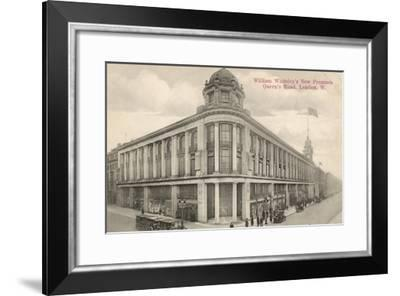 The New Whiteleys Shop in Queen's Road, London, England--Framed Giclee Print