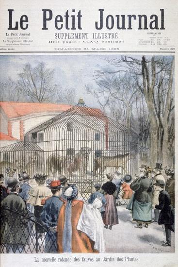 The New Wildcat House at the Jardin Des Plantes, Paris, 1895-Oswaldo Tofani-Giclee Print