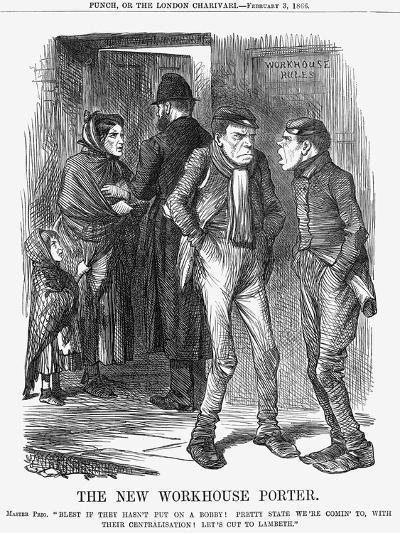 The New Workhouse Porter, 1866-John Tenniel-Giclee Print
