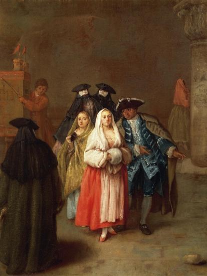 The New World-Pietro Longhi-Giclee Print