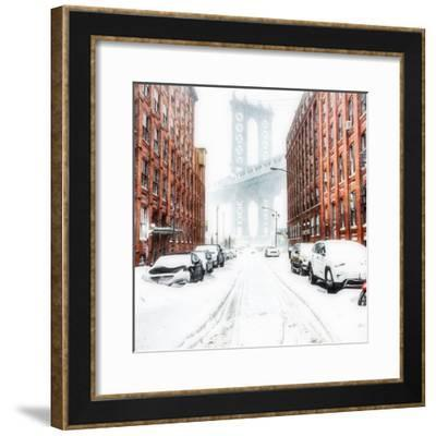 The New York Blizzard 2-Bruce Getty-Framed Photographic Print