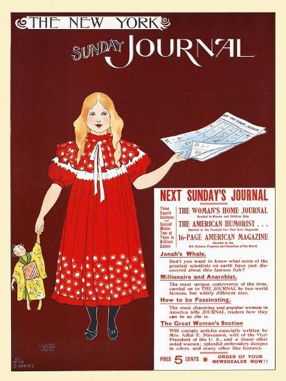 The New York Sunday Journal-Ernest Haskell-Art Print