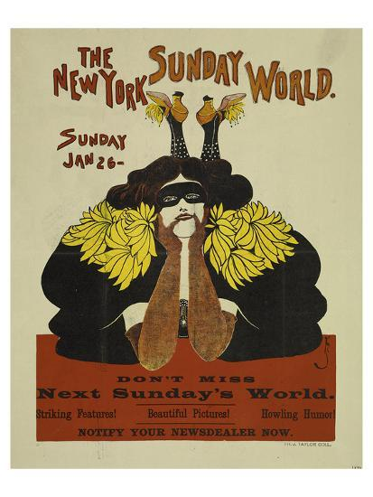 The New York Sunday World--Art Print