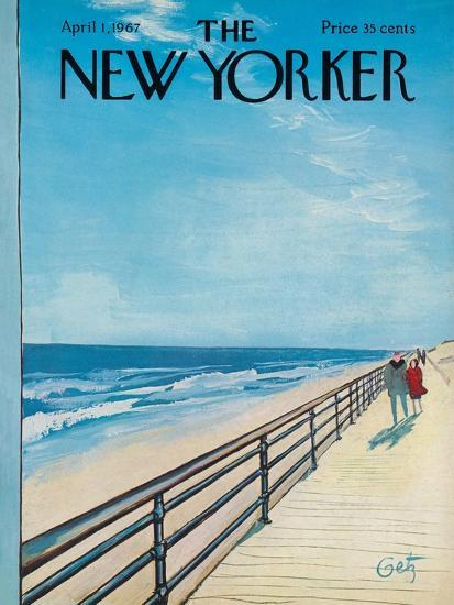 the new yorker cover april 1 1967 premium giclee print by arthur