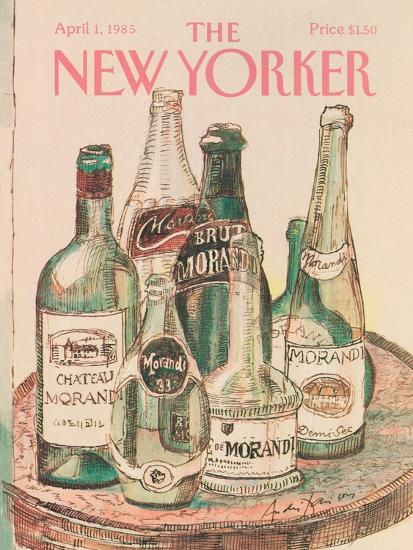 The New Yorker Cover - April 1, 1985-Andre Francois-Premium Giclee Print