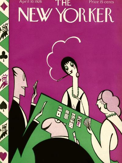 The New Yorker Cover - April 10, 1926-H.O. Hofman-Premium Giclee Print