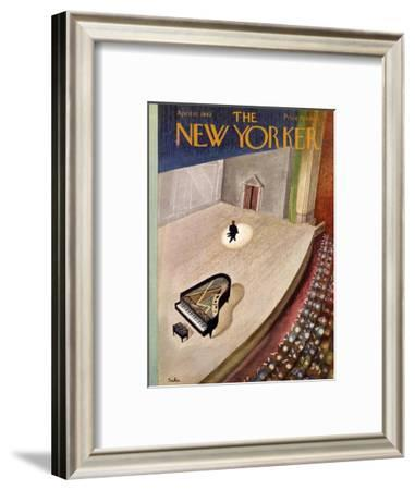 The New Yorker Cover - April 11, 1942-Susanne Suba-Framed Premium Giclee Print