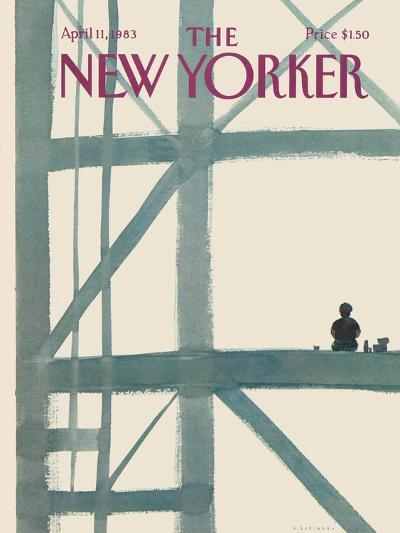The New Yorker Cover - April 11, 1983-Abel Quezada-Premium Giclee Print
