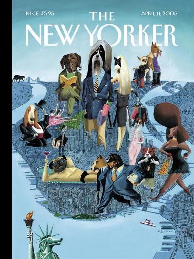 The New Yorker Cover - April 11, 2005-Mark Ulriksen-Premium Giclee Print
