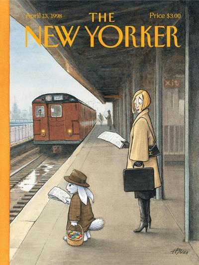 The New Yorker Cover - April 13, 1998-Harry Bliss-Premium Giclee Print