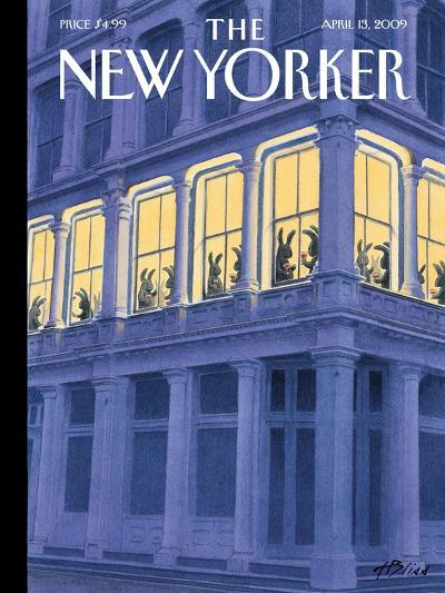 The New Yorker Cover - April 13, 2009-Harry Bliss-Premium Giclee Print