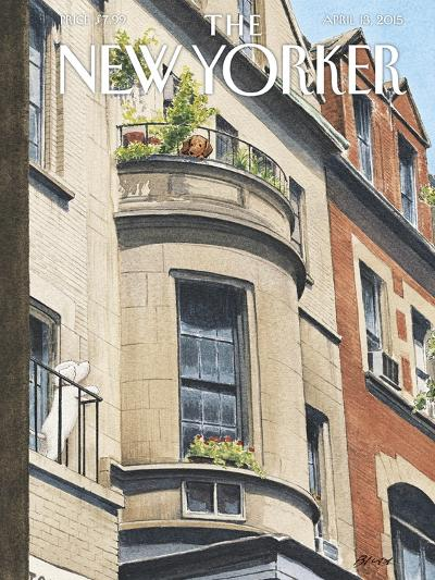 The New Yorker Cover - April 13, 2015--Premium Giclee Print