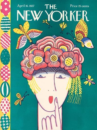 The New Yorker Cover - April 16, 1927-Ilonka Karasz-Premium Giclee Print
