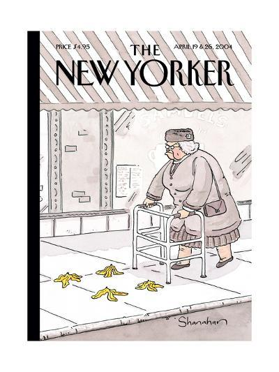 The New Yorker Cover - April 19, 2004-Danny Shanahan-Premium Giclee Print