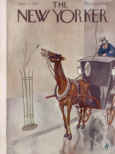 The New Yorker Cover - April 2, 1932-Julian de Miskey-Premium Giclee Print