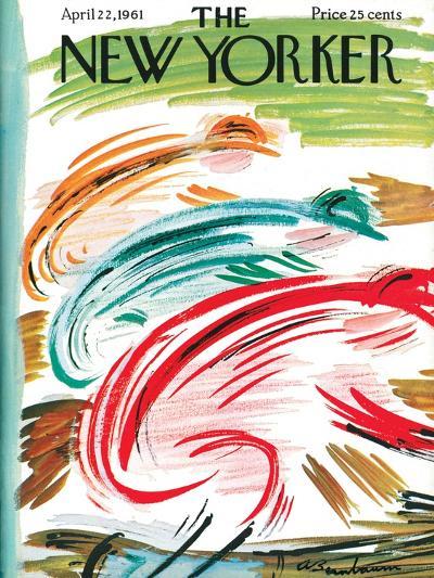 The New Yorker Cover - April 22, 1961-Abe Birnbaum-Premium Giclee Print