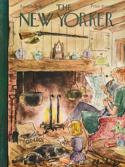 The New Yorker Cover - April 24, 1948-Perry Barlow-Premium Giclee Print