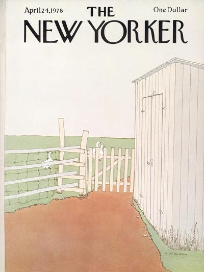 The New Yorker Cover - April 24, 1978-Gretchen Dow Simpson-Premium Giclee Print