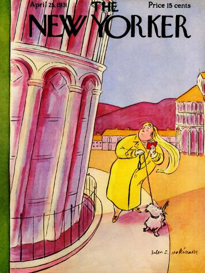 The New Yorker Cover - April 25, 1931-Helen E. Hokinson-Premium Giclee Print
