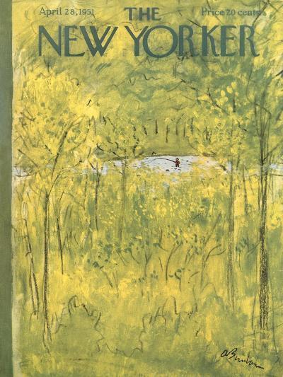 The New Yorker Cover - April 28, 1951-Abe Birnbaum-Premium Giclee Print