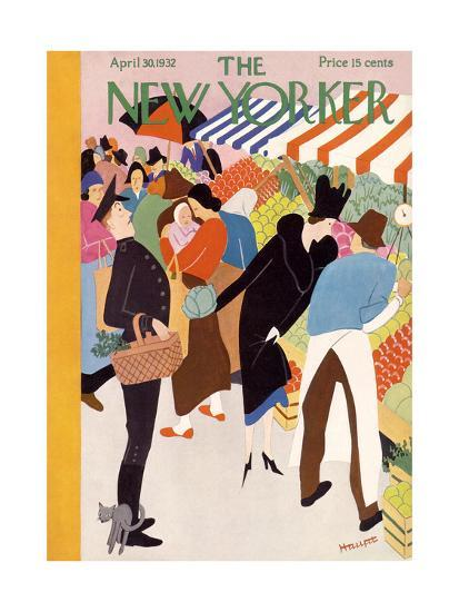 The New Yorker Cover - April 30, 1932-Theodore G. Haupt-Premium Giclee Print