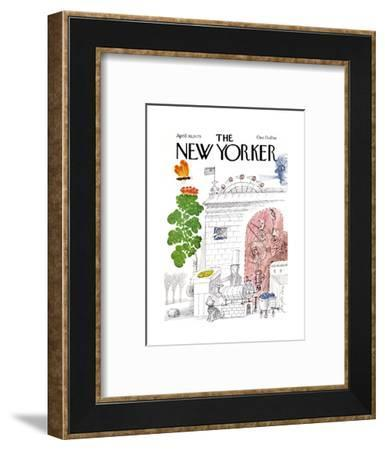 The New Yorker Cover - April 30, 1979-Joseph Low-Framed Premium Giclee Print