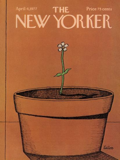 The New Yorker Cover - April 4, 1977-Robert Tallon-Premium Giclee Print
