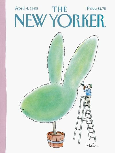 The New Yorker Cover - April 4, 1988-Arnie Levin-Premium Giclee Print