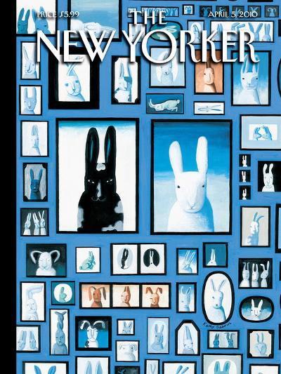 The New Yorker Cover - April 5, 2010-Kathy Osborn-Premium Giclee Print