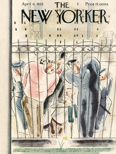 The New Yorker Cover - April 6, 1935-Leonard Dove-Premium Giclee Print