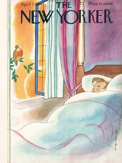 The New Yorker Cover - April 7, 1934-Rea Irvin-Premium Giclee Print