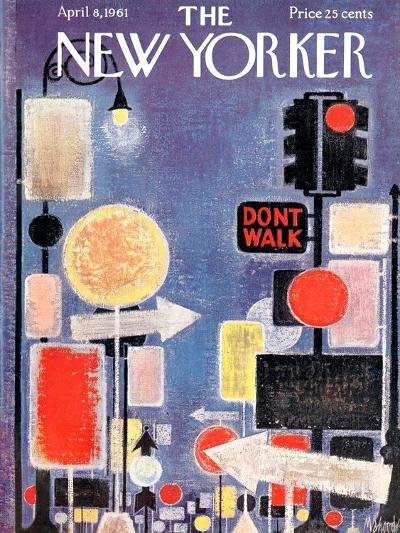 The New Yorker Cover - April 8, 1961-Kenneth Mahood-Premium Giclee Print
