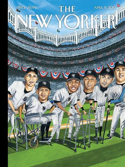The New Yorker Cover - April 8, 2013-Mark Ulriksen-Premium Giclee Print